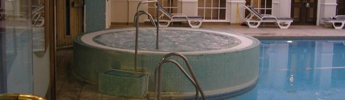 AM Physio Wokingham Jacuzzi used for Hydrotherapy